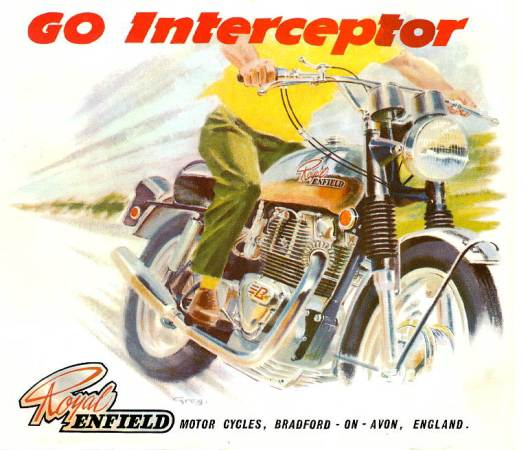Royal Enfield Interceptor Poster
