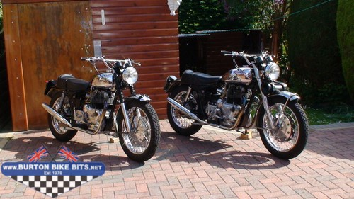 Royal Enfield Interceptors MK1A