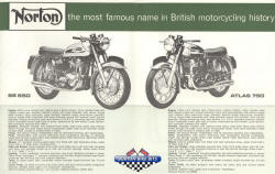 Norton SS650 Atlas 750 Brochure