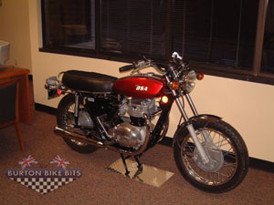 BSA A70 Lightning Seattle