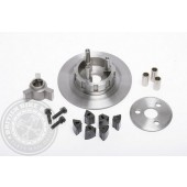 G68/5/123 Clutch Centre & Backplate - Royal Enfield 500 Bullet