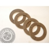 Alloy Splined Clutch Plates Royal Enfield