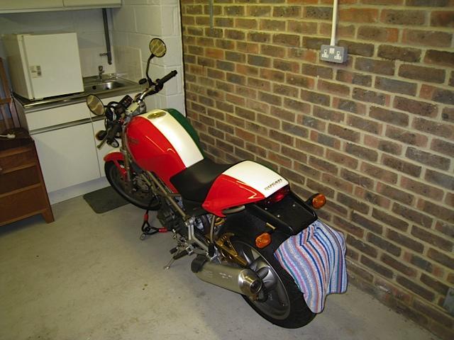 Ducati Monster Italian Flag