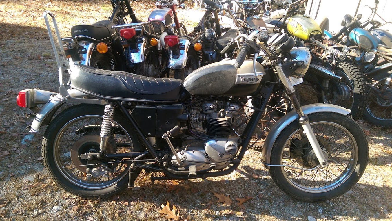SOLD Triumph T140 Bonneville 1977 For Sale
