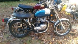 Triumph T140 Bonneville for sale 1977