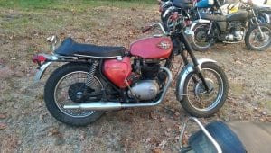BSA A65 Firebird Scrambler 1969 For Sale