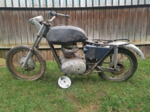 BSA A65 Oil in Frame For Sale