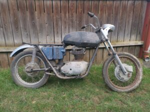 BSA A65 Oil in Frame project bike For Sale
