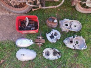 BSA A65 1966 barn find for sale