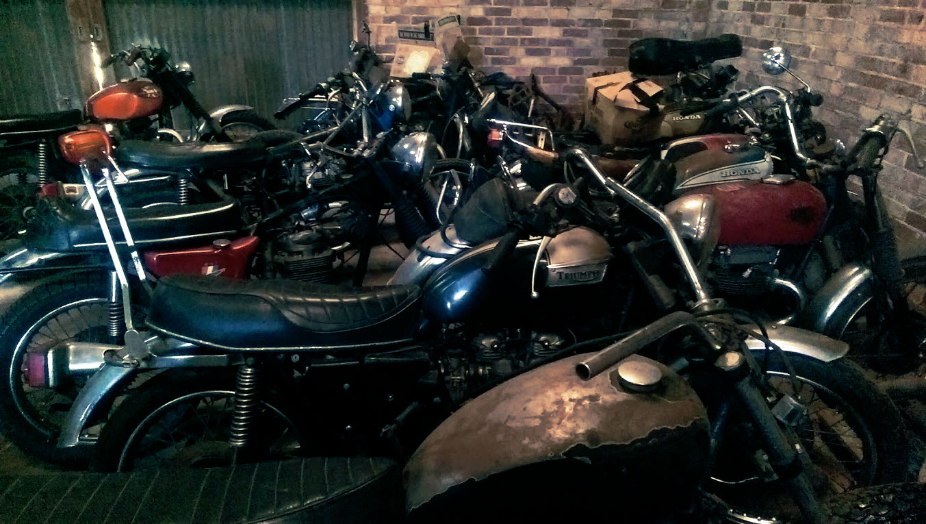 Barn Find Motorcycles