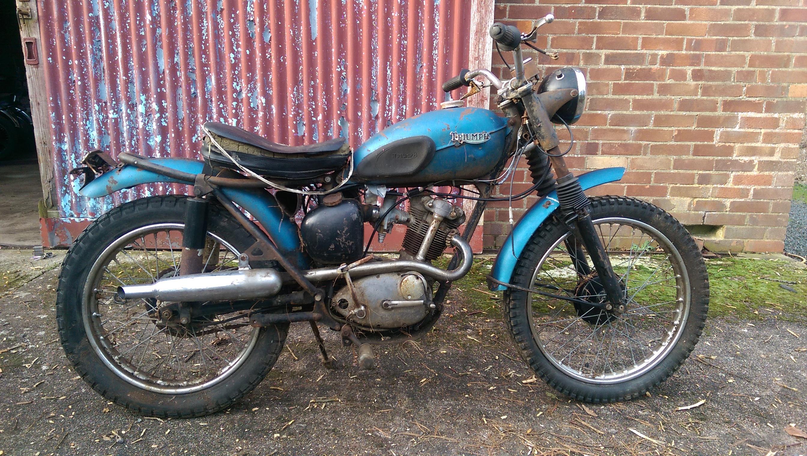 Triumph Terrier For Sale >> Barn Find Classic Bikes For Sale   Burton Bike Bits