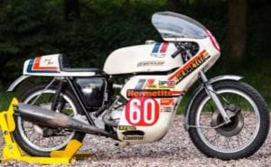 Son of Sam Triumph Trident Production Racer