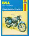 BSA A7/A10 Twins Repair Manual, 1947–1962