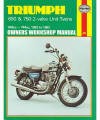 Triumph 650 and 750 Twins Repair Manual, 1963-1983