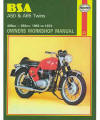 BSA A50/A65 Repair Manual, 1962–1973