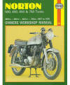 Norton 500/600/650/750 Twins Repair Manual, 1957-1970