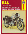 BSA Pre-Unit Singles Repair Manual, 1954–1961