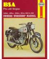 BSA Pre-Unit Singles Repair Manual, 1954–1961