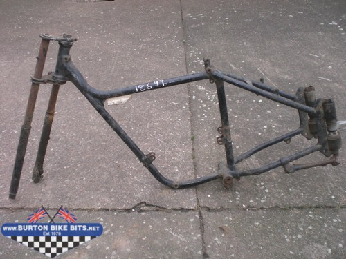 Frames Chassis For Bsa Norton Triumph Royal Enfield