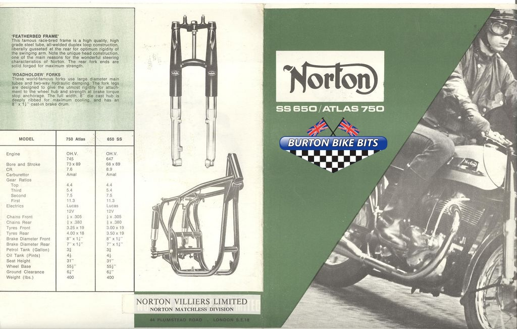 Brochures, Road Tests and Adverts, BSA, Triumph, Norton