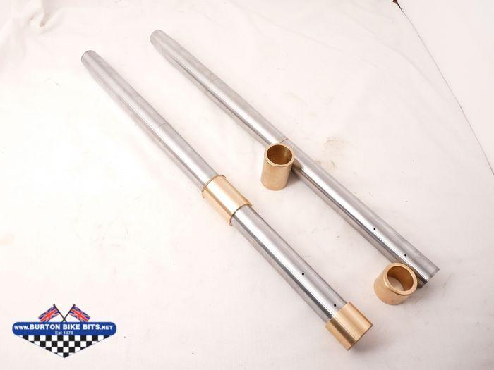 Fork Stanchions Tubes For Bsa Triumph Norton Royal