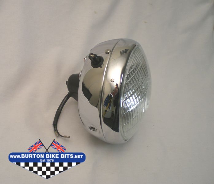 cimg0745 headlamp headlights for bsa, triumph, royal enfield etc burton  at nearapp.co