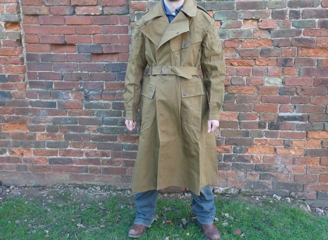 WW2 Rubberized overcoat