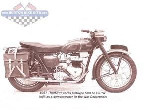 Triumph TRW 500SV Prototype